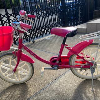 【ネット決済】子供自転車18インチ キティちゃん