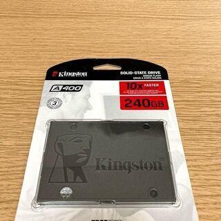【決まりました】キングストンテクノロジー SSD 240GB 2...