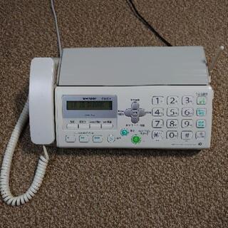 FAXつき電話機