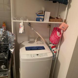 洗濯機などのとこのラック