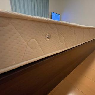 🎶🛎美品【シングルベッド+マットレス】22000円 - 家具