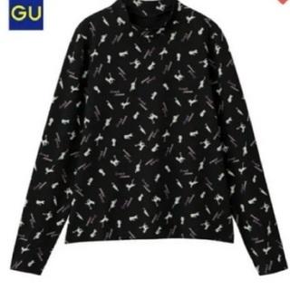 セーラームーン×GU  ハイネックTシャツ 黒 Mサイズ 新品