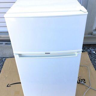 格安 ハイアール86L 2ドア冷凍冷蔵庫JR-N85A(W)  ...