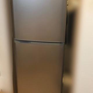 SANYO★冷凍冷蔵庫137Lシルバー★取扱説明書あり