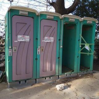 仮設トイレ 和式 大便