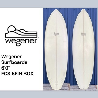 "wegener surfboards 6'0"""
