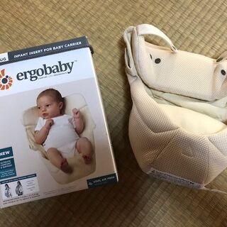 エルゴベビー新生児抱っこ紐インファントインサートクールエア…