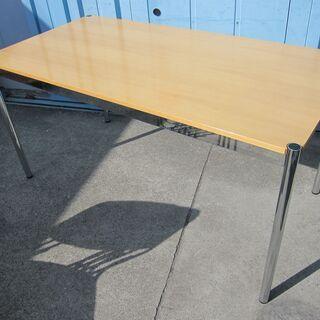 USMハラー 木目天板テーブル 1500x750 会議テーブル