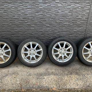 【ネット決済】155/65R14 スタッドレスタイヤ アルミホイル付き