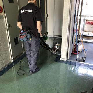 ビル内の清掃スタッフ in 大阪 / Cleaning, Cle...