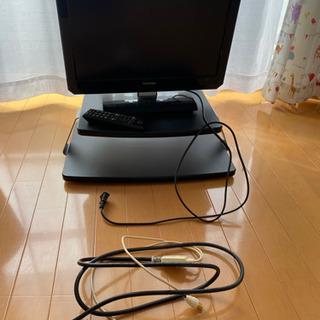 19型テレビ テレビ台セット 一人暮らしピッタリ