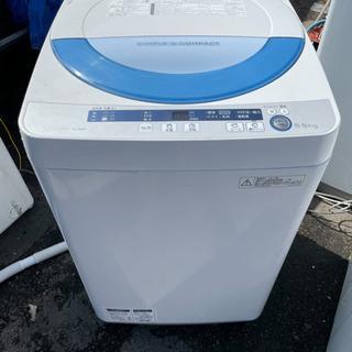 節水モデル 5.5キロ洗濯機 シャープ リサイクルショップ宮崎屋...