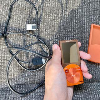 WALKMAN ウォークマン NW-S645 オレンジ 16GB...