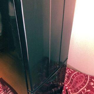 (取引終了)手渡し0円!/冷凍冷蔵庫!!「JR-140C」/黒色...
