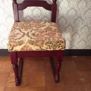 昔ながらの椅子