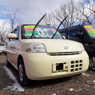 エッセ‼️走行7万キロ‼️車検2年付き‼️4WD‼️ワンオーナー車‼️