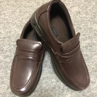 革靴ブラウン 26cm 中古。