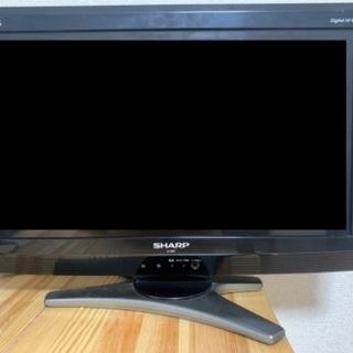 SHARP_ 20V型ワイドテレビ_ LC-20E7