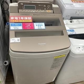安心の1年保証付き!!2018年製パナソニックの縦型洗濯乾…