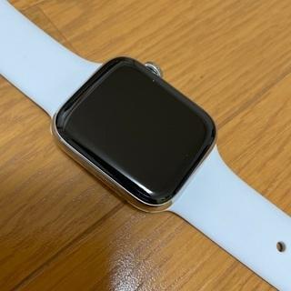 Apple Watch series5 ステンレス44m シルバー