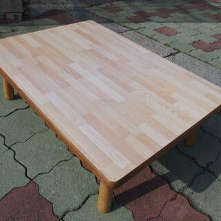 更新 座卓テーブル(足折れタイプ)105*75*34 cm 9....