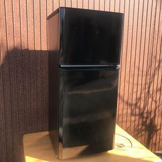 【ハイアール】2ドア 冷凍冷蔵庫 121L JR-N121A 2...