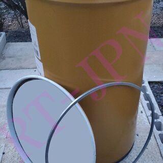 【中古】 オープン ドラム缶 底に水抜き穴あり