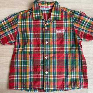 ミキハウス 半袖シャツ 90センチ