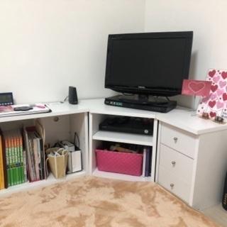家具家電5点セット(テレビ 、シングルベッド 、マットレス 、冷...