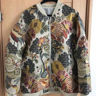 ■*超豪華刺繍 *限定 和柄 スカジャンジャケットブルゾン