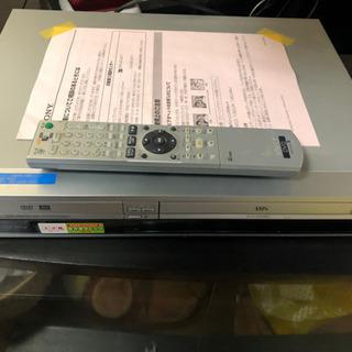 【ネット決済】SONY DVD VHS レコーダー ジャンク