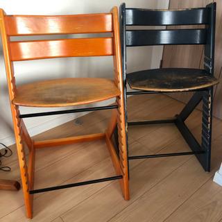 ハイチェア 子供椅子 2脚 差し上げます!