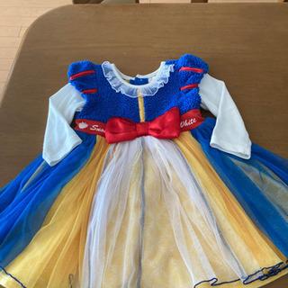 ディズニー服❣️白雪姫風ワンピースドレス サイズ90