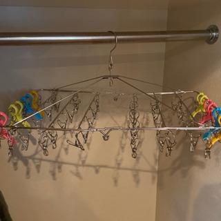 ステンレス製の洗濯ハサミ