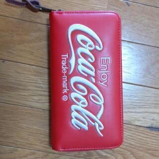 コカコーラの長財布