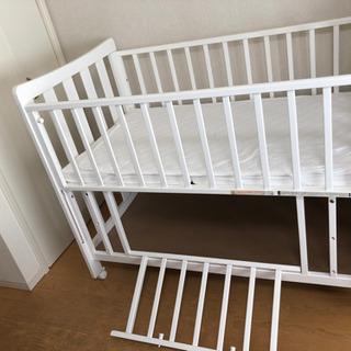 ベビーベッド ベッドマット 敷きパット