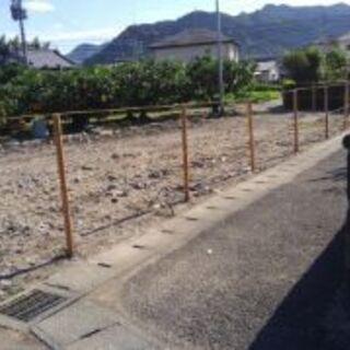 【商談中です】草刈り・除草シート張り・杭打ち&ロープ貼り