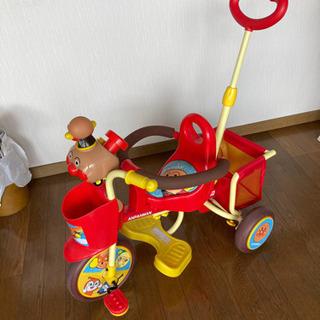 (決定)アンパンマン 三輪車