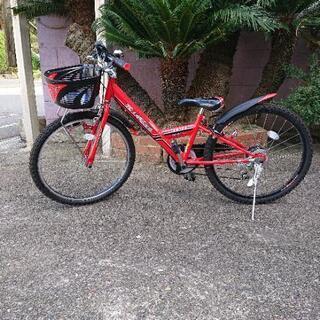 24インチ自転車&ヘルメット