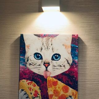 美品 猫ちゃん壁掛け絵画 2枚