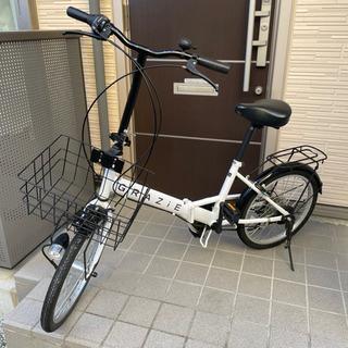オートライト折りたたみ 自転車