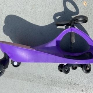 【ネット決済・配送可】プラズマカー 三輪車 のりもの 乗用玩具 足けリ