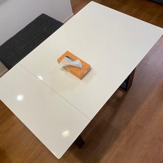【中古】伸縮ダイニングテーブル(ロピア2)定価17600円
