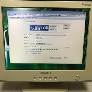三菱ディスプレイ15インチ TFTカラー液晶モニター
