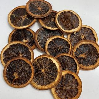花材*ドライ オレンジ