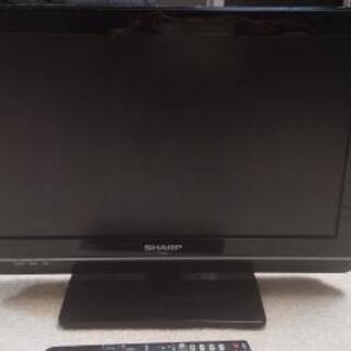 SHARP19型テレビ