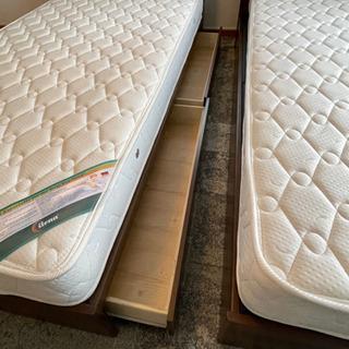 🎶🛎美品【シングルベッド+マットレス】22000円 - 売ります・あげます