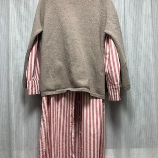ポンチョ風ニット セーター&ワンピース