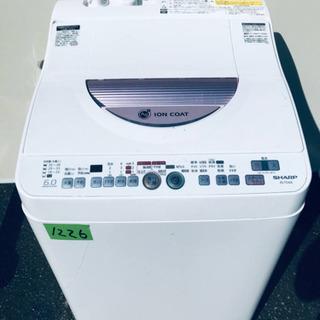✨乾燥機能付き✨1226番 SHARP✨電気洗濯乾燥機✨ES-T...