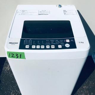 ✨2019年製✨1231番 Hisense✨全自動電気洗濯機✨H...